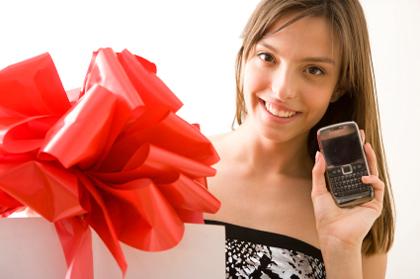 Поздравление с подарком телефона